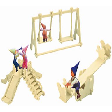 levne 3D puzzle-Dřevěné puzzle Čínské stavby Hřiště profesionální úroveň Dřevěný 1pcs Dětské Chlapecké Dárek