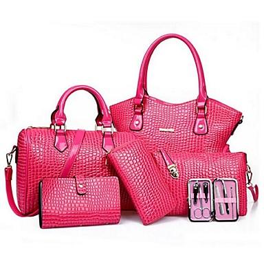 Női Táskák PU táska szettek 5 db erszényes készlet Fukszia   Piros   Kék  5331403 2019 –  29.99 0f871b97c4