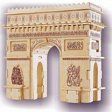 ปริศนาไม้ แบบไม้ อาคารที่มีชื่อเสียง Arc de Triomphe ระดับมืออาชีพ ทำด้วยไม้ 1 pcs สำหรับเด็ก ผู้ใหญ่ เด็กผู้ชาย เด็กผู้หญิง Toy ของขวัญ