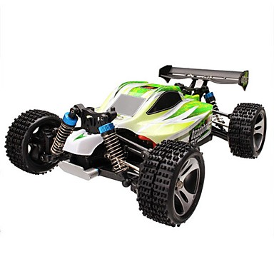 RC Car WLtoys A959-B 2.4G Buggy (Off-road) / Off Road Car / Drift Car 1:18 Brush Electric 70 km/h Remote Control / RC / Rechargeable / Electric
