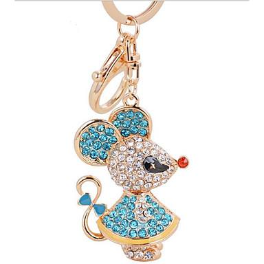högvärdigt raffinerade diamant metall nyckelring bilstereo hirs mus väska  smycken hängsmycken 5333661 2019 –  4.99 ad117506b4aff