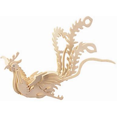 voordelige 3D-puzzels-Houten puzzels Feniks professioneel niveau Puinen 1 pcs Kinderen Jongens Geschenk