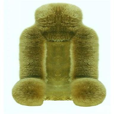 billige Interiørtilbehør til bilen-ren australsk ull bilsete pute hel pels pels i høst og vinter bilsete