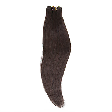 levne Příčesky z pravých vlasů-Flip In Rozšíření lidský vlas Klasický Remy vlasy Příčesky z pravých vlasů Halo příčesky Dámské Stredně hnědá
