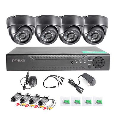 [$146 99] Twvision® 8ch hdmi 960h cctv dvr enregistreur de  vidéosurveillance 1000tvl dome cameras cctv system