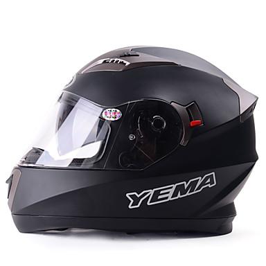 povoljno Motori i quadovi-YEMA Zatvorena kaciga Odrasli Uniseks Motocikl Kaciga Prozračnost