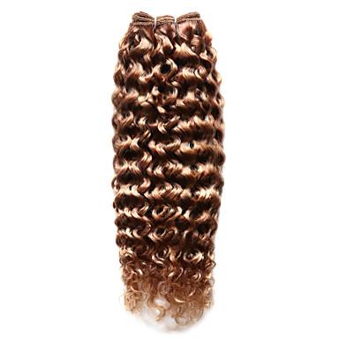 povoljno Ekstenzije od ljudske kose-Indijska kosa Kovrčav 8A Izdvojeno kose Isprepliće ljudske kose Proširenja ljudske kose