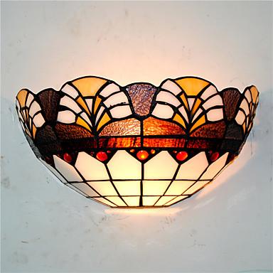 CXYlight Tiffany / ลอดจ์ / ชนบท / แบบดั้งเดิม / คลาสสิก โคมไฟติดผนัง โลหะ โคมไฟติดผนัง 110-120โวลล์ / 220-240โวลต์ 60W / E26 / E27