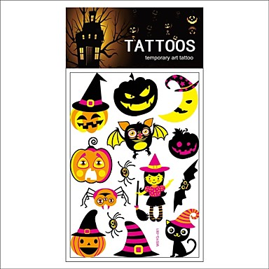 5000 pcs Non Toxic / Modelo / Halloween Los tatuajes temporales ...