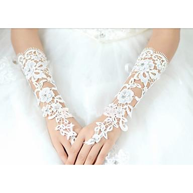 pamut könyök hosszúságú kesztyű menyasszonyi kesztyű klasszikus női  stílusban 5373732 2019 –  11.99 1ac86cbf23