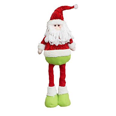 ตกแต่งวันคริสมาสต์ / ของเล่นคริสมาสต์ Santa Suits / มนุษย์หิมะ สิ่งทอ ของขวัญ 2 pcs