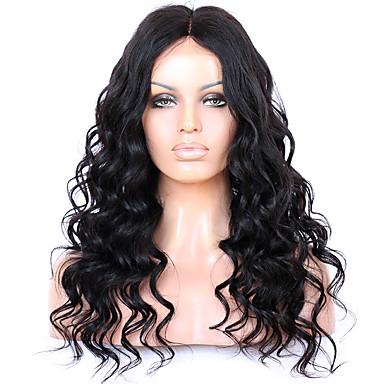 ผม Remy ลูกไม้หน้าไม่มีกาว มีลูกไม้ด้านหน้า วิก สไตล์ ผมบราซิล Wavy วิก 130% 150% 180% Hair Density 8-22 inch ผมเด็ก เส้นผมธรรมชาติ วิกผมแอฟริกันอเมริกัน 100% มือผูก สำหรับผู้หญิง Short ขนาดกลาง ยาว