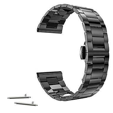 สายนาฬิกา สำหรับ Huawei Watch / Withings Activité / Withings Activité Pop Huawei / Withings หัวกลัดแบบคลาสสิก สแตนเลส สายห้อยข้อมือ