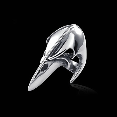 voordelige Herensieraden-Heren Ring Zilver Titanium Staal Gepersonaliseerde Europees Causaal Sport Sieraden