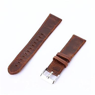 สายนาฬิกา สำหรับ Gear S3 Classic Samsung Galaxy หัวกลัดแบบคลาสสิก / สายห่วงหนัง หนัง สายห้อยข้อมือ