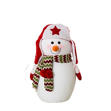 มนุษย์หิมะ ตกแต่งวันคริสมาสต์ น่ารัก Cartoon คุณภาพสูง แฟชั่น Plush เด็กผู้ชาย เด็กผู้หญิง Toy ของขวัญ 3 pcs