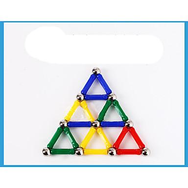 28 pcs Magnetiske leker บล็อกแม่เหล็ก แผ่นแม่เหล็ก ของเล่นแม่เหล็ก Building Blocks พลาสติก Metal แปลกใหม่ สำหรับเด็ก / ผู้ใหญ่ เด็กผู้ชาย เด็กผู้หญิง Toy ของขวัญ