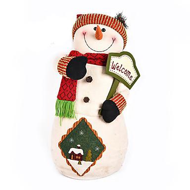 มนุษย์หิมะ ตกแต่งวันคริสมาสต์ น่ารัก / บทความเกี่ยวกับเครื่องตกแต่ง Cartoon / คุณภาพสูง / แฟชั่น สิ่งทอ เด็กผู้ชาย / เด็กผู้หญิง ของขวัญ