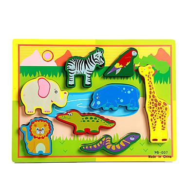 Puslespill / ของเล่นการศึกษา ช้าง / วัว / Horse แปลกใหม่ ไม้ เด็กผู้ชาย / เด็กผู้หญิง ของขวัญ