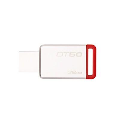 Kingston 32GB USB แฟลชไดรฟ์ ดิสก์ USB USB 3.1 Metal