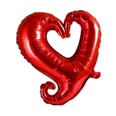 ลูกบอล / Balloons Heart Creative / ปาร์ตี้ / Inflatable Aluminium เด็กผู้ชาย / เด็กผู้หญิง ของขวัญ 1 pcs