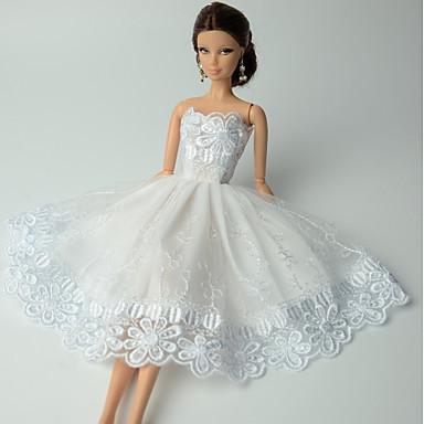 ed1dba085dac Πάρτι   Απόγευμα Φορέματα Για Barbiedoll Δαντέλα   Organza Φόρεμα Για Κορίτσια  κούκλα παιχνιδιών 5417300 2019 –  6.11