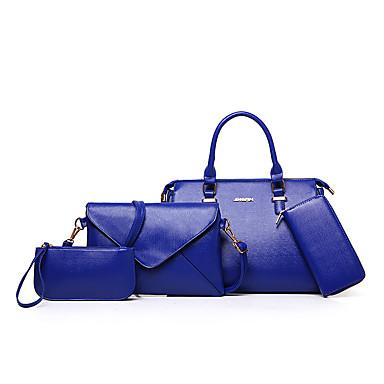 Női Táskák Minden évszak PU táska szettek 4 db erszényes készlet mert  Hétköznapi Bézs Fukszia Barna Kék Bor 5397750 2019 –  39.99 8c99ace1db