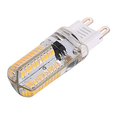 YWXLIGHT® 1pc 4 W หลอดเสียบคู่ LED 300-400 lm G9 T 80 ลูกปัด LED SMD 3014 หรี่แสงได้ ตกแต่ง ขาวนวล ขาวเย็น 85-265 V / 1 ชิ้น / RoHs