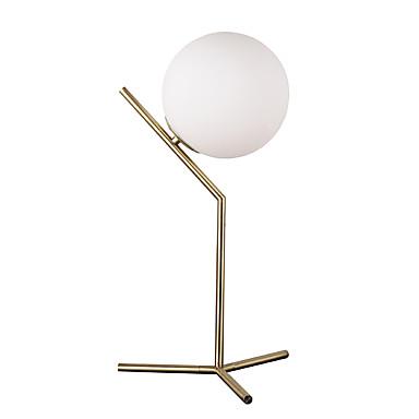 หัวเดียวสไตล์โมเดิร์แก้ว wih โลหะ electroplated โคมไฟสำหรับห้องนอนโรงอาหารกาแฟห้องโต๊ะแสง