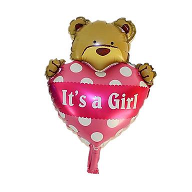 Balloons Toys รูปทรงหัวใจ Animal Inflatable ปาร์ตี้ แปลกใหม่ Aluminium เด็กผู้หญิง เด็กผู้ชาย 1 ชิ้น