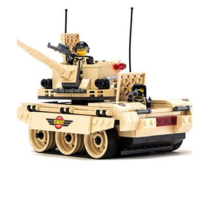 Building Blocks บล็อกทางทหาร ของเล่นชุดก่อสร้าง ถัง ทหาร ที่เข้ากันได้ Legoing แปลกใหม่ เด็กผู้ชาย เด็กผู้หญิง Toy ของขวัญ / ของเล่นการศึกษา