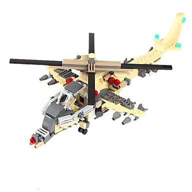GUDI Action Figures & Stuffed Animals Building Blocks บล็อกทางทหาร ถัง เรือรบ Fighter ที่เข้ากันได้ Legoing เด็กผู้ชาย เด็กผู้หญิง Toy ของขวัญ / ของเล่นการศึกษา