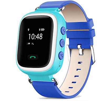 levne Pánské-Sportovní hodinky Módní hodinky Inteligentní hodinky Digitální Kůže Modrá / Orange / Růžová Voděodolné Dotykový displej Alarm Digitální Na běžné nošení - Oranžová Modrá Růžová / Kalendář / Chronograf
