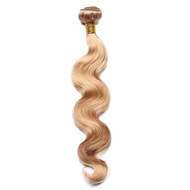 povoljno Ekstenzije od ljudske kose-1 paket Indijska kosa Tijelo Wave Klasika Ljudska kosa Precolored kose plete Isprepliće ljudske kose Proširenja ljudske kose / 8A