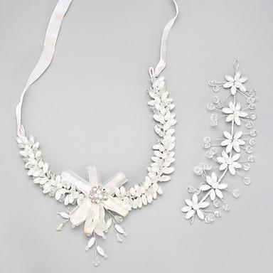 e843bac5747 Dámské Křišťál Šperky Set - Střapec Zahrnout Svatební šperky Soupravy Bílá  Pro Svatební 5386701 2019 –  19.99