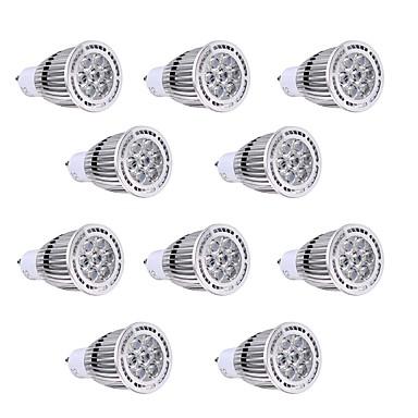 10pcs 7W GU10 LED Σποτάκια 7 leds SMD 3030 Διακοσμητικό Θερμό Λευκό Ψυχρό Λευκό 600-700lm 2800-3200/6000-6500
