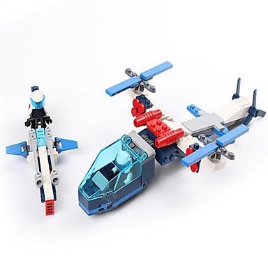 GUDI Action Figures & Stuffed Animals Building Blocks บล็อกทางทหาร Aircraft Fighter ทหาร ที่เข้ากันได้ Legoing เด็กผู้ชาย เด็กผู้หญิง Toy ของขวัญ / ของเล่นการศึกษา