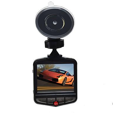 levne Auto Elektronika-209 720p / HD 1280 x 720 / 1080p Auto DVR 140 stupňů Široký úhel 2.4 inch Dash Cam s Parkovací mód / Smyčkové nahrávání Záznamník vozu