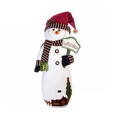 มนุษย์หิมะ ตกแต่งวันคริสมาสต์ ของขวัญวันคริสต์มาส น่ารัก บทความเกี่ยวกับเครื่องตกแต่ง Cartoon คุณภาพสูง แฟชั่น สิ่งทอ เด็กผู้ชาย เด็กผู้หญิง Toy ของขวัญ
