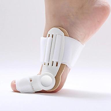 2 ชิ้น การออกกำลังกาย, การทำงานและการฝึกโยคะ พื้นรอง รองเท้า ซิลิโคน เท้าหน้า ทุกฤดู ทุกเพศ ขาว