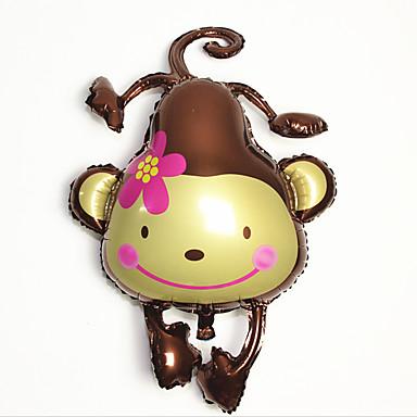 levne Balónky-Balónky Hračky Opice Nafukovací Párty Zábavné Hliník Dívčí Chlapecké 1 Pieces