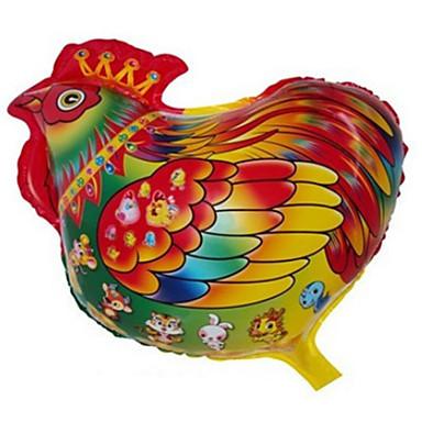 preiswerte Ballons-Ballons Hühnchen Kreativ / Party / Aufblasbar Aluminium Jungen / Mädchen Geschenk
