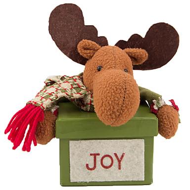 Santa Suits Elk มนุษย์หิมะ ตกแต่งวันคริสมาสต์ น่ารัก Cartoon คุณภาพสูง แฟชั่น Plush เด็กผู้ชาย เด็กผู้หญิง Toy ของขวัญ