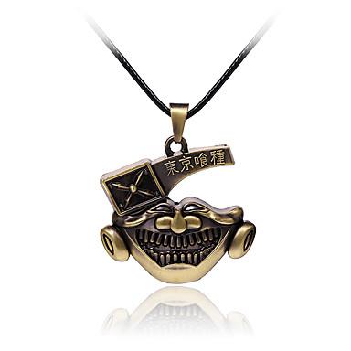 Smycken Inspirerad av Tokyo Ghoul Cosplay Animé Cosplay-tillbehör Dekorativa Halsband Legering Herr Ny Halloween kostymer