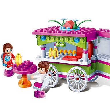 Building Blocks บล็อกทางทหาร Tilbehør til dukkehus รถยนต์ เฟอร์นิเจอร์ บ้าน ที่เข้ากันได้ Legoing เก๋ไก๋และทันสมัย Cartoon หวาน เด็กผู้ชาย เด็กผู้หญิง Toy ของขวัญ / ของเล่นการศึกษา