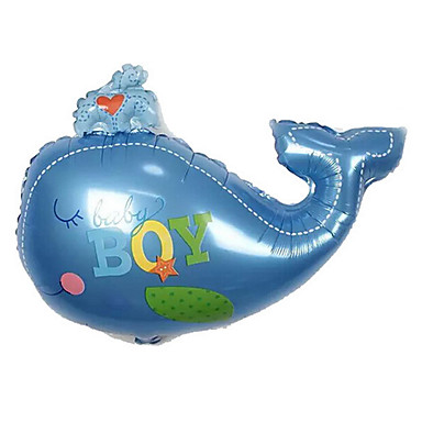 levne Balónky-Míčky Balónky Ryby Nafukovací Hliník Chlapecké Dívčí Hračky Dárek 1 pcs
