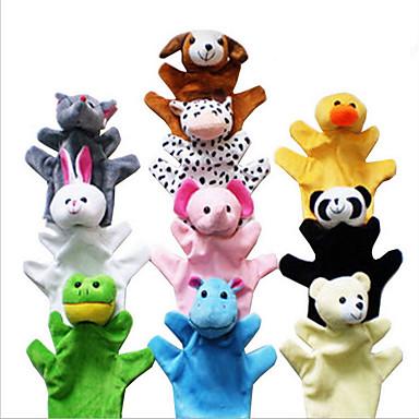 voordelige Knuffels & Pluche dieren-Knuffels Speeltjes Rabbit Olifant Eend Muis Hagedis Noviteit Pluche Meisjes Jongens 3 Stuks