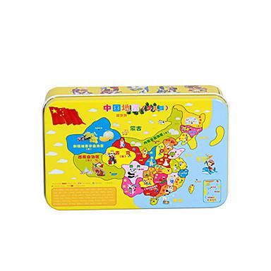 voordelige 3D-puzzels-Legpuzzel / Houten puzzels / Educatief speelgoed Noviteit Hout / Rauta Chinese stijl Jongens / Meisjes Geschenk