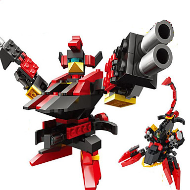 GUDI GUDI9908 Action Figures & Stuffed Animals Building Blocks ของเล่นชุดก่อสร้าง นักรบ Robot ที่เข้ากันได้ Legoing เท่ห์ เก๋ไก๋และทันสมัย Cartoon เด็กผู้ชาย เด็กผู้หญิง Toy ของขวัญ / ของเล่นการศึกษา