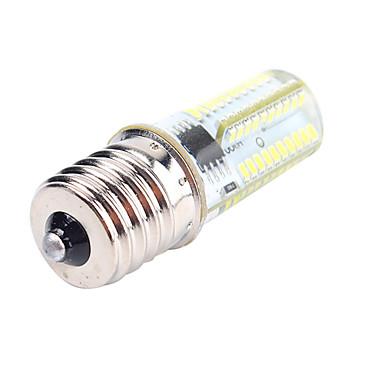 1pc 4 W หลอด LED รูปข้าวโพด 400 lm E12 E17 BA15D T 80 ลูกปัด LED SMD 3014 หรี่แสงได้ ตกแต่ง ขาวนวล ขาวเย็น 220-240 V 110-130 V / 1 ชิ้น / RoHs